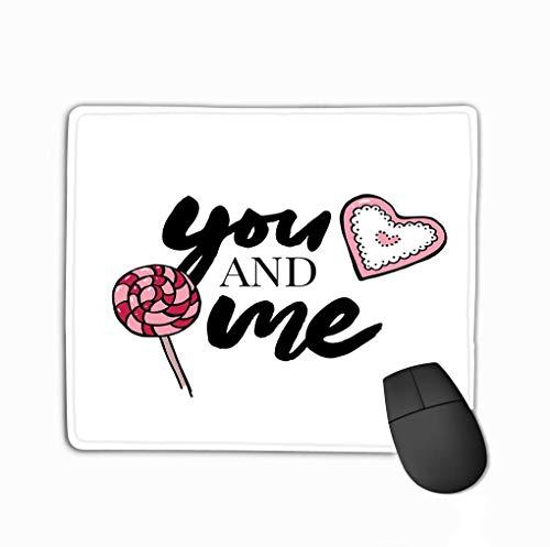 Antislip Rubber muismat Slogan Grafische Rose Retro Stijl Prints Andere toepassingen Snoepjes Liefde Valentijn s