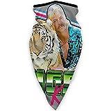 Zjipeung Joe Exotic Tiger King Face Cover Unisex Multifunción Microfibra Cuello Calentador