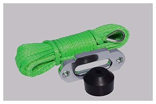 YEZIO Cable de cabrestante Green 6mm * 15m Cuerda de buCh de...