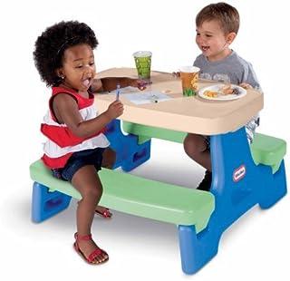 Little Tikes Junior Play Table, Multi Color - 5.68H X 76.53W X 76.53D Cm