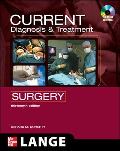 CURRENT Diagnosis and Treatment Surgery: Thirteenth...