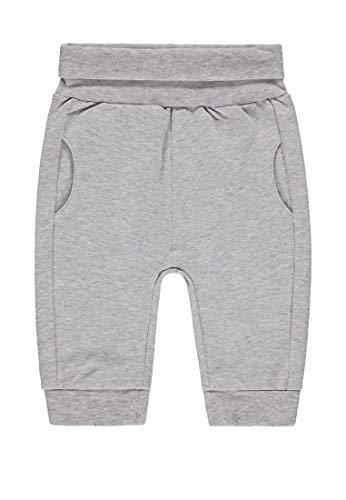 bellybutton Baby-Jungen Jogginghose Hose, Silver Melange|Gray, 92
