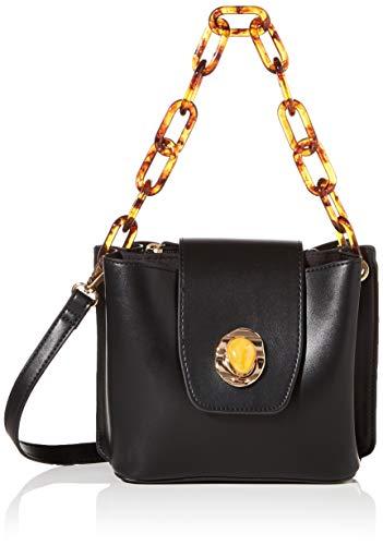 PIECES Womens PCMOTEL BAG Tasche, Black, ONE SIZE