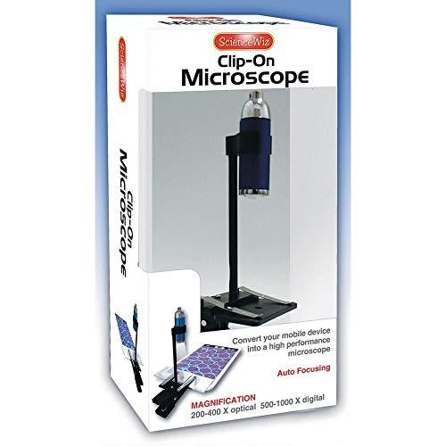 Science Wiz Clip On Microscope