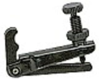 CORDAL VIOLIN Wittner Negro Sintetico Con Tensores Negros y Cuerda Sujeta Cordal 918121 3//4