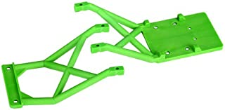 Traxxas 3623A Front and Rear Green Skid Plates
