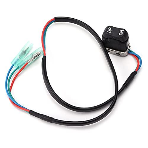 703‑82563‑02‑00, substituição durável do interruptor de inclinação do trim para controle remoto do motor externo Yamaha para motores marítimos