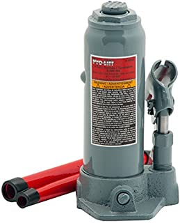 Pro-Lift B-004D Grey Hydraulic Bottle Jack – 4 Ton Capacity