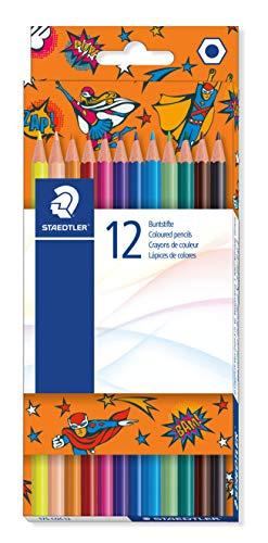Staedtler Edition Comic - Etui Carton 12 Crayons De Couleur Assortis