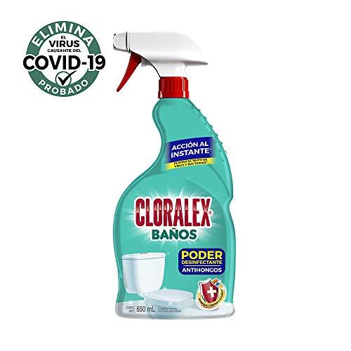 Cloralex Limpiador Con Cloro Cloralex Baños Antihongos 650ml, color, Pequeño, pack of/paquete de
