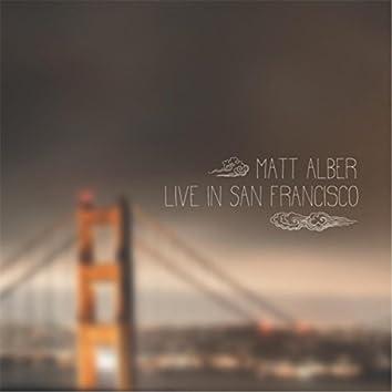 Matt Alber Live in San Francisco