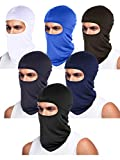 Tatuo 6 Pieces UV Sun Protection Balaclava Full Face Clothing Winter Windproof Ski Face Clothing for...