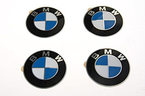 BMW Original Centro de la rueda Cap emblemas adhesivos pegatinas 58mm