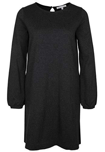 Blaumax - Vestito da Donna Franka Mini Jacquard Knopf Anthrazit S