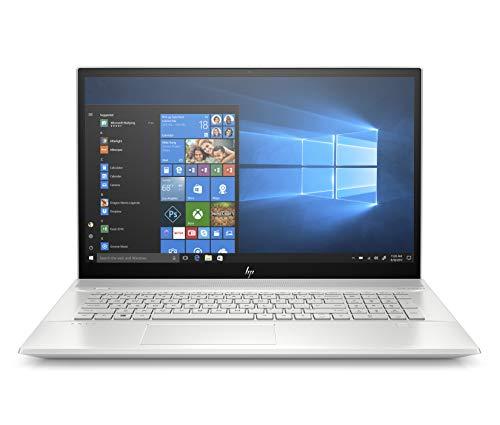 HP Envy 17 Laptop, 11th Generation Intel Core i7-1165G7 Processor, 12 GB Ram, 1 TB 7200 RPM SATA HDD, 128 GB SSD, 17.3-inch Full HD Touchscreen, Windows 10 Home (17-ce2010nr, Natural Silver)