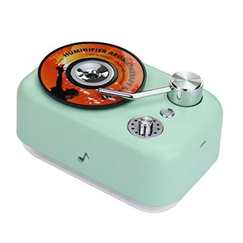 Qiumi humidificador de aerosol de aire eléctrico 300 ml difusor de aroma aromaterapia para el hogar humidificador de niebla fría USB para oficina