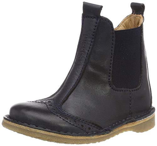 Bisgaard Jungen Unisex Kinder 50238.119 Chelsea Boots, Blau (Navy 601), 30 EU