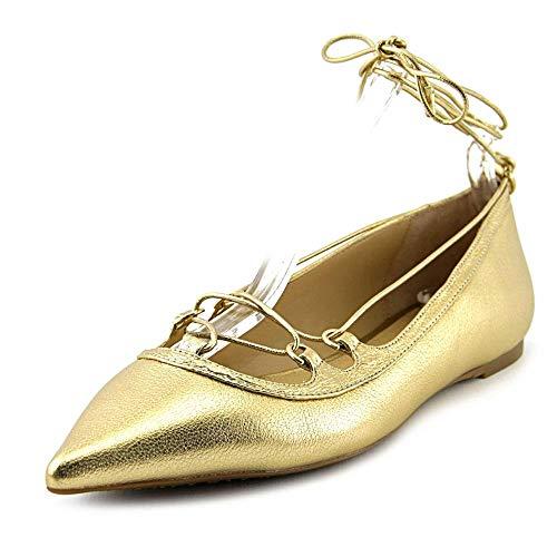 Femmes Michael Michael Kors Ballerines Couleur Metallic Pale Gold Tumbled Metall