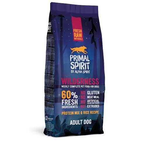 Primal Spirit8436586310851 60% Wilderness Adulto Perros Comida 12 kg