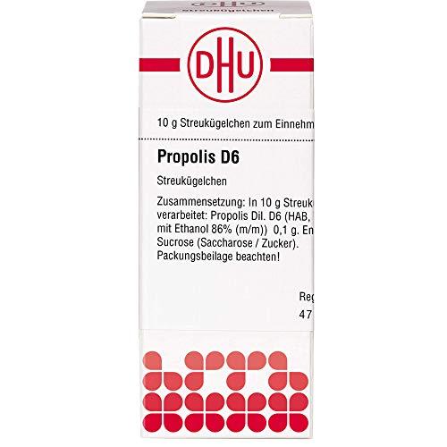 DHU Propolis D6 Streukügelchen, 10 g Globuli