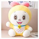 HONGYMY Plush Toy 21-39cm Cartoon Anime Stand by Me Doraemon Plush Toys Stuffed Cute Cats Doll Soft Animal Pillow Sleep (Color : Girl, Height : 21cm)