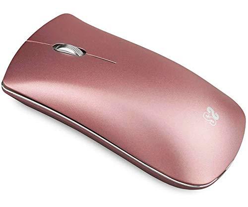 SUBBLIM SUB-MO-6EL0503 BT Mouse Elegant Gold Rose