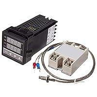 freneci 1個インテリジェントアラームREX-C100 LED温度コントローラーレギュレータ
