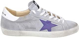 Golden Goose Superstar Sneaker Grey/Blue Suede G34MS590.N35
