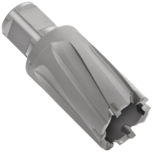 Jancy Slugger Carbide-Tipped Annular Cutter, Uncoated (Bright) Finish, 3/4' Annular Shank, 1' Depth, 2-5/16' Diameter