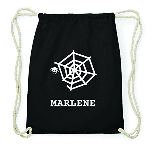 JOllify Turnbeutel Halloween für Marlene - Spinnennetz
