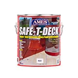 Ames SD1BN 1 Gallon Brown Safe-T-Deck Granulated, 4 Piece