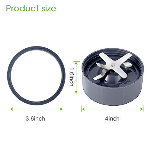 2-pack NutriBullet Replacement Parts Extractor Blade Fits NutriBullet 600w/900w Blender