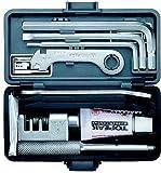 TOPEAK Survival Gear Box Werkzeugkoffer Fahrrad 23 Werkzeuge Mountain Bike MTB Innensechskant, 15400042