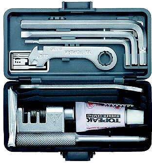 TOPEAK Werkzeugkoffer Survival Gear Box, Grau, 15400042