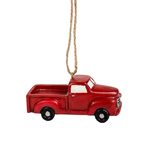 The Country House Collection Little Red Truck Ornament (3.75')