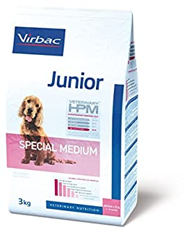 Virbac Veterinary HPM Vet Dog Junior Spec M Nourriture pour Chien 12 kg