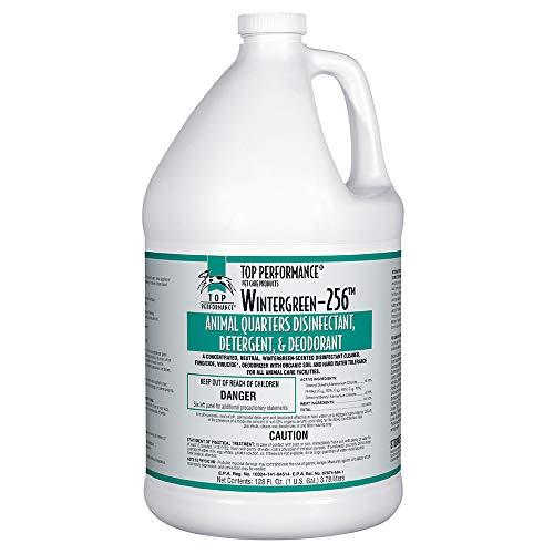 256 Pet Disinfectant Color: Wintergreen 128 fl oz