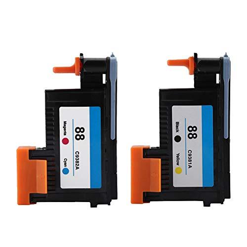 Mavis Laven Professioneller Druckkopf, hochwertiger Druckkopf für HP 88 C9381A C9382A für K5300 K8600 L7380 Series(CMYK)