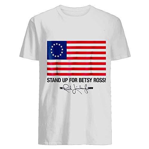 Stand Up for Betsy Ross Flag The Rush Limbaugh Show Signature Youth Tee Tshirt Unisex T Shirt, Hoodi DMN T-Shirt - Hood Black