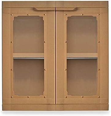 Nilkamal Freedom Mini Small Wall Hanging Plastic Storage Cabinet (FMSWHC) (Sandy Brown)