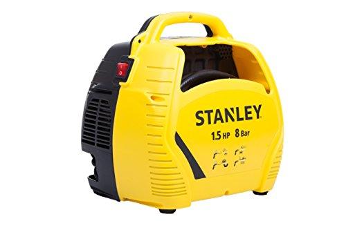 Stanley Compressore d'aria con acessori, 1.5 HP fino a 8 Bar, 1100...