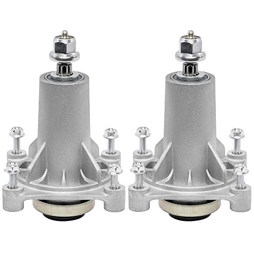 TENGMUJX 2 Pack Lawn Mower Spindle Assembly Fit for Husqvarna 532187282/AYP 187292 192870/ Ariens 21546238 21546299