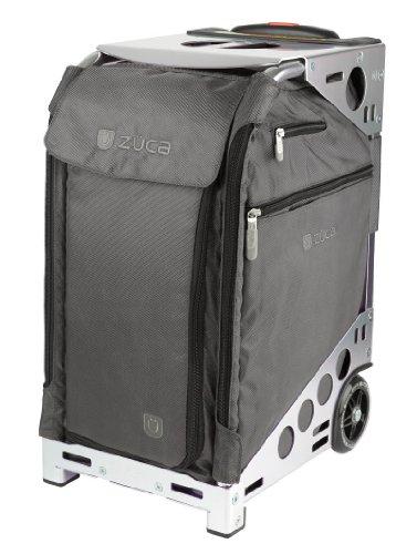 Züca Pro Travel - el maletín sentarse (Graphite Grey / Acero inoxidable)
