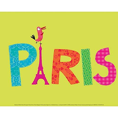 Draeger - Affiche Déco - Poster Enfant Nathalie Choux pour décorer Votre intérieur - Affiche Colorée en Papier satimat 350g - 30 x 40 cm
