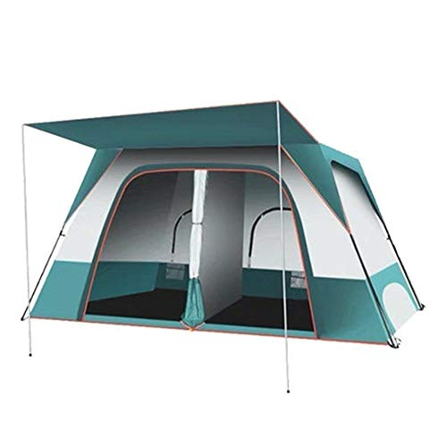 YAOHONG Outdoor Tent, Outdoor Camping Tents Thick, Ultra-lightweight Automatic Tent Camping Equipment, Anti-rain Storm Beach Travel tent