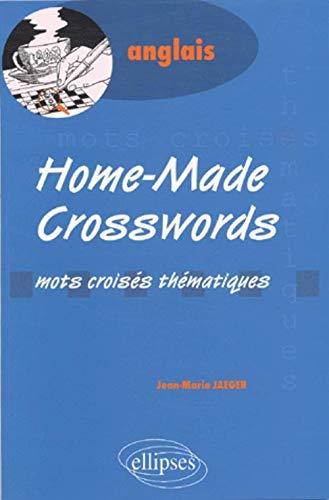 Home-made crosswords