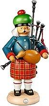 مدخن بخور ألماني الاسكتلندي مع مزمار القربه، ارتفاع 27 سم / 11 بوصة، ارزجبرجي الأصلي مولر سيفين