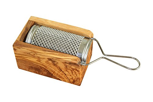 D.O.M. Die Olivenholz-Manufaktur D.O.M.–Grattugia per formaggio in legno d' ulivo