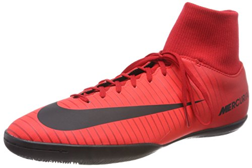 Nike Herren MercurialX Victory VI Dynamic Fit IC Fußballschuhe, Mehrfarbig (University Red/Black-Bright Cr), 44.5 EU