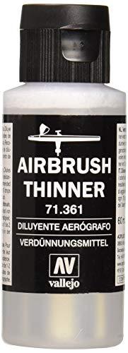 Vallejo Model Air - Diluenti, 60 ml, Trasparente